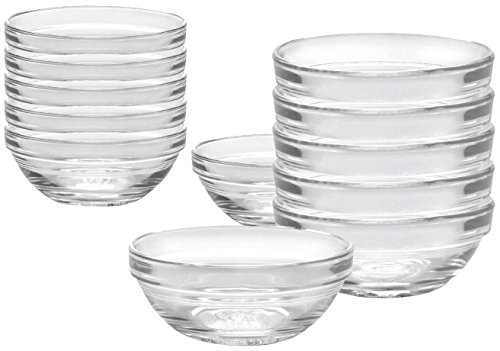 Duralex 12 Piece Bowl Set of Six, - Bowl 12 Piece