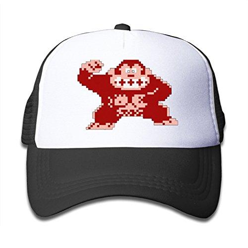 Price comparison product image Donkey Kong Donkey Kong Country Platformer Snapback Hats Baseball Peaked Trucker Caps For Youth