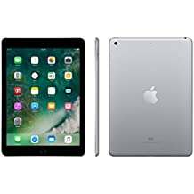 "Apple iPad 9.7"" with WiFi 32GB- Space Gray (2017 Model)(Certified Refurbished)"