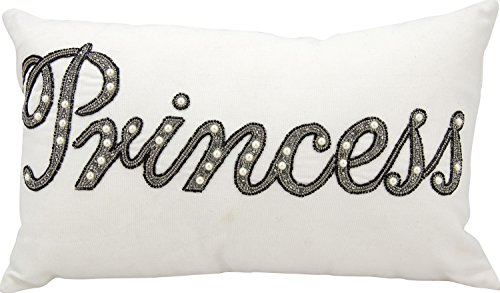 Beaded Decorative Pillow - Mina Victory by Nourison E3000 Beaded Princess Decorative Pillow, 12