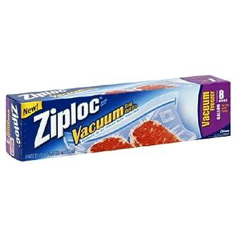 Amazon.com: Ziploc aspiradora Congelador, bolsas, 1 galón, 3 ...