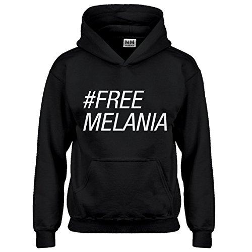 Indica Plateau Kids Hoodie Free Melania Medium Black Hoodie