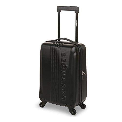 Leonardo Koffer Schwarz Reisegepäck
