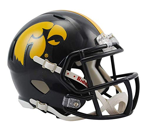 Ncaa Hawkeyes Iowa (NCAA Iowa Hawkeyes Speed Mini Helmet)
