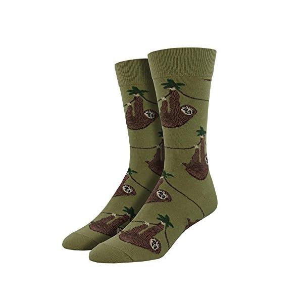 Socksmith Men'S Sloth Socks -