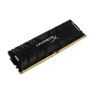 HyperX Kingston 32GB 2666MHz DDR4 Non-ECC CL13 DIMM (Kit of 2) XMP Predator (HX426C13PB3K2/32) - 32GB Kit (2 x 16GB)