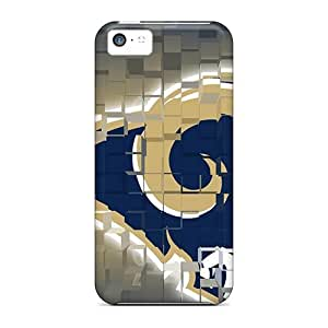 For FAT13533dVkX St. Louis Rams Protective Cases Covers Skin/iphone 5c Cases Covers