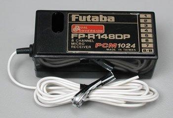 - Futaba R148DP 8-Ch PCM 72MHz High w/o Crystal