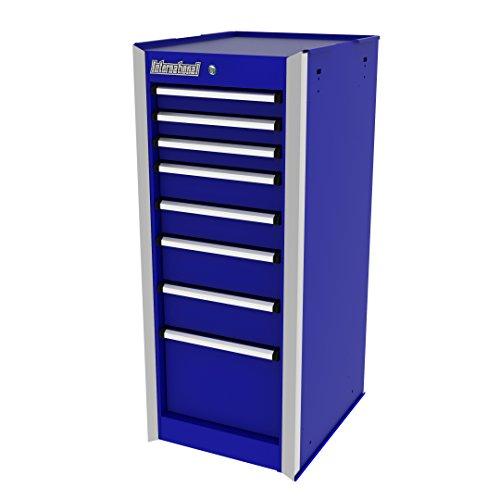 - International PRS-3708BU 15-Inch 8 Drawer Professional Series, Side Cabinet, Blue