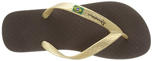 II Tongs Ipanema Classica Brown Brasil Marron Femme Gold 4q4tEr