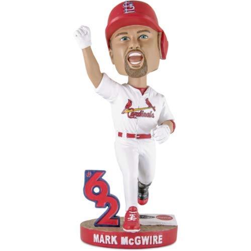 Mark McGwire 62nd Home Run Celebration Stadium Promo 62 Bobblehead - Mark Mcgwire Runs Home