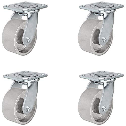 4 cast iron wheel - 4