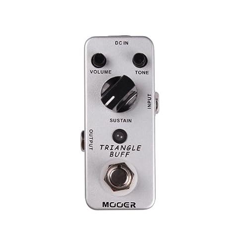 Mooer Triangle Buff, fuzz pedal (Bass Pedal Fuzz)