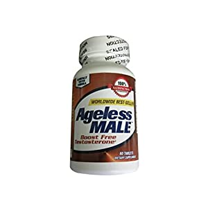 New Vitality Ageless Male Testosterone Booster Tablets, 60 Count (Pack of 1)