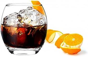 Sables & Reflets – 6 vasos de Whisky/Coñac/Ron/Aperitivo/300 ...