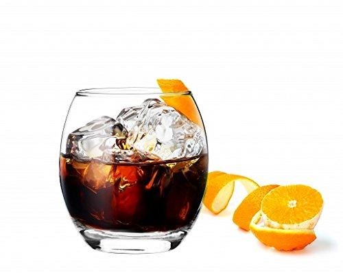 Sables & Reflets - 6Bicchieri da Whisky/cognac/Rum/aperitivo, 300ml 300ml