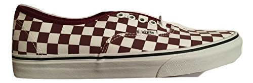 Vans Red Port Royale Authentic White True xw701