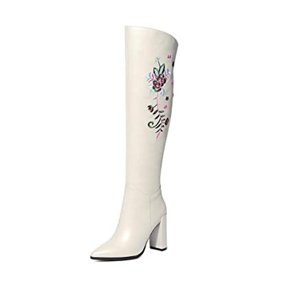 2d348e926f5bc Amazon.com: YaXuan Women's Long Boots, Winter Shoes, Knight Boots ...