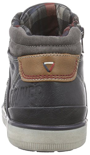 s.Oliver 15200 Herren Hohe Sneakers Blau (Navy 805)