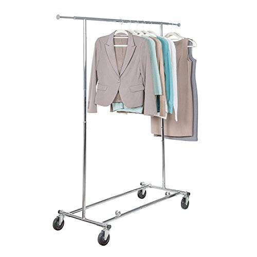 Richards Homewares Commercial Grade Garment Rack-Chrome (Best 4 Wheeling In Colorado)