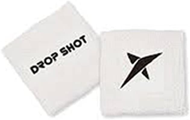 DROP SHOT Mu/ñequera Feel Logo Aplicado Felpa 100/% Cotton Blister 2 Uds BC-Ng-Rj
