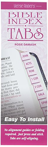 - 1 X Bible Index Tabs