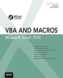 Jelen: Excel 2013 VBA and Macros _p1 (MrExcel Library)