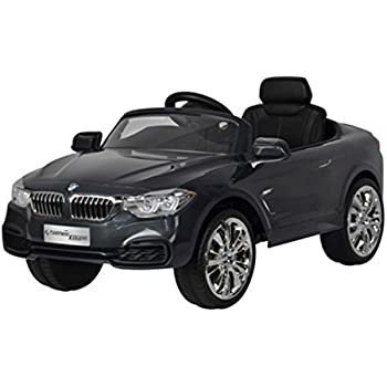 this item licensed bmw 4 series 12v kids battery powered ride on car grey