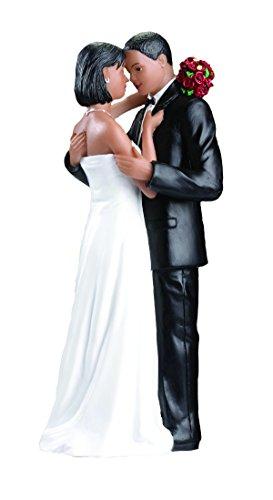 Lillian Rose African American Bride Groom Wedding Cake Topper