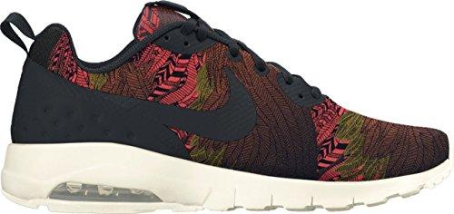 Motion Black De Lw Air black Zapatillas W Print Nike Max Multicolor Naranja Gol qxg0I1OWw