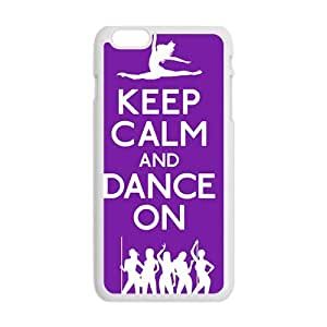 Keep Calm And Dance ON Hot Seller Stylish Hard Case For Iphone 6 Plus