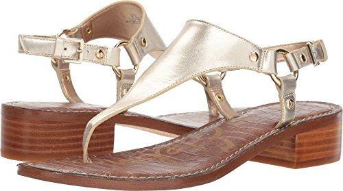 - Sam Edelman Women's Jude Heeled Sandal, Molten Gold/Metallic Leather, 10 M US