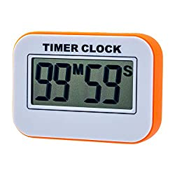 Digital Kitchen Timer, Simple Stopwatch, Magnet Alarm Clock