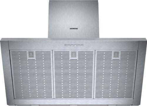 Siemens LC97KA532 - Campana (Recirculación, 690 m³/h, 53 Db, Montado en pared, LED, Acero inoxidable): Amazon.es: Hogar