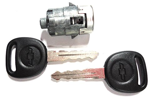 - NEW Chevy OEM Single Door Lock Cylinder W/2 OEM Bowtie Logo Keys-706592 + 598007
