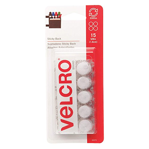 VELCRO Brand Reclosable Fastener White
