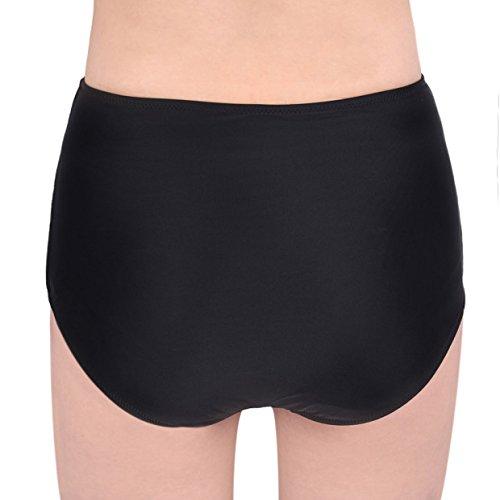 iBaste Bikini Pantalones Cortos,Parte Abajo del Bikini con Alta Cintura con Alto Tejido Elástico para la Natación