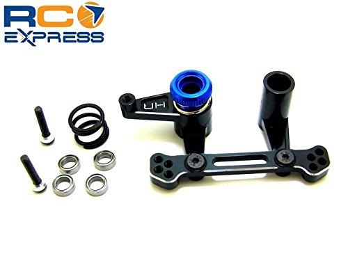 Hot Racing TE48X01 Aluminum Servo Saver Bellcrank Steering - Tra Ban Rus 2wd ()