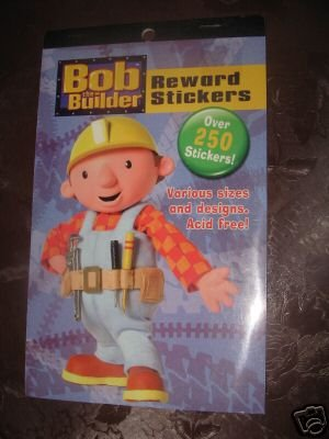 Bob The Builder Reward Stickers, Over 250 Stickers, Various Sizes & Designs, Acid Free by Bob the Builder