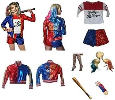 Harley quinn kids costume _image3