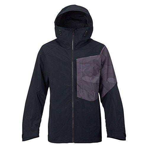Burton Men's AK 2L Boom Jacket, True Black/True Black Hombre Camo, Large