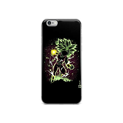 iPhone 6/6s Case Anti-Scratch Japanese Comic Transparent Cases Cover The Legendary Fusion Anime & Manga Graphic Novels Crystal Clear (Best Nature For Suicune)