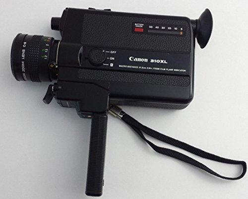Canon 310XL Super 8 Movie Camera 1.0/8.5-25.5mm