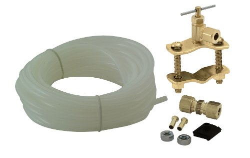 Universal Polyethylene Tubing Ice Maker / Humidifier Installation Kit, ¼