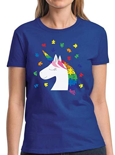 Vizor Embrace Different Autism Shirts Womens Autism...