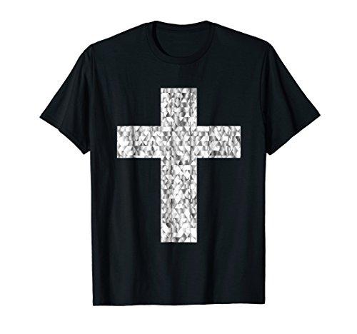 Gemstone Crucifix - Diamond Cross T-Shirt Gemstone Crucifix Christianity Jesus