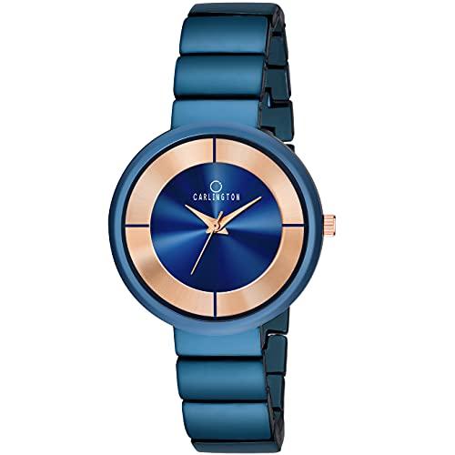 Carlington Platina Analogue Women's Watch – L114(Multicolored Dial)