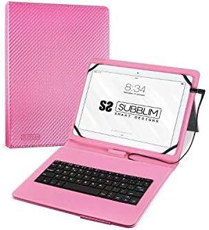 Subblim Funda con Teclado para Tablet, Multicolor, 10.1 Inch ...