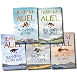 Jean M. Auel Box Set (Earth's Children Series, Clan of the Cave Bear, Valley of the Horses, Plains of Passage, Mammouth Hunters, Shelters of Stone)