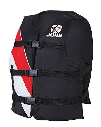 Jobe Universal Life Jacket Vest, (PFD), Color Rojo